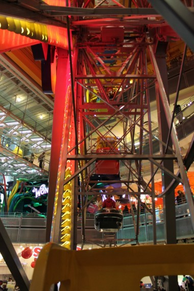 Indoor Ferris Wheel!