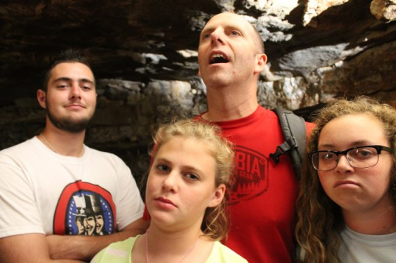 Caves are awe-inspiring