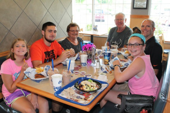 Lunch at Culver's