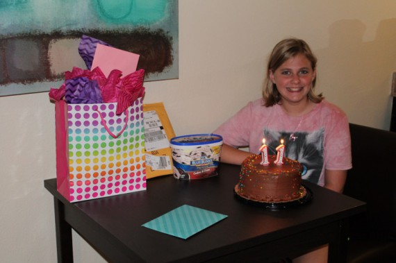 Marissa turns 11