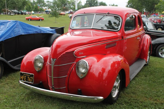 1939 Ford Coupe.  KK really liked this one and had a conversation with the owner.