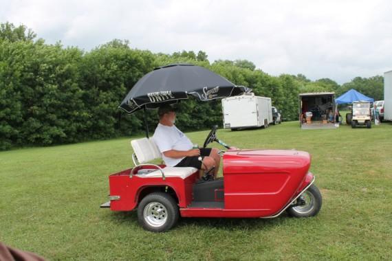 Cushman Golf Cart.