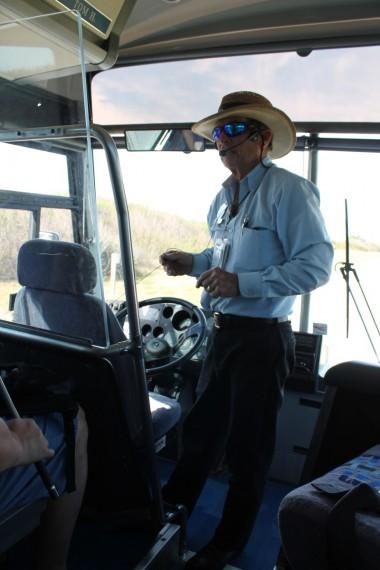 Tour Bus Driver, Tom