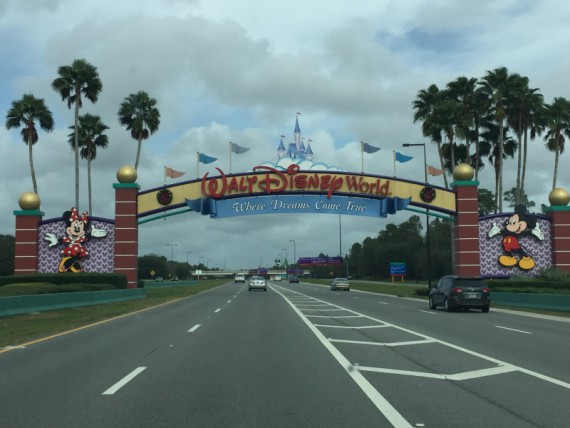 Walt Disney World welcomes our family!