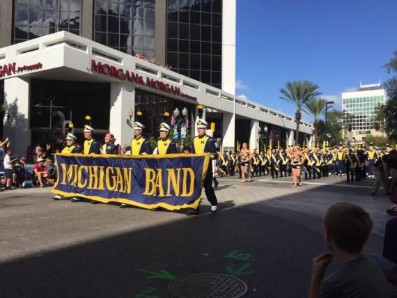 The Michigan Band.