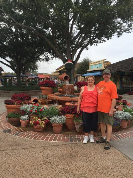 PK and KK at Disney Springs.
