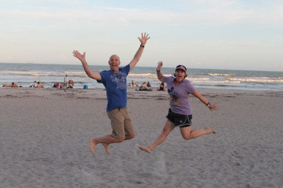 Hanging out at Cocoa Beach