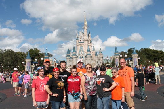 Thank you Miles and Mallory for marching at the Magic Kingdom!