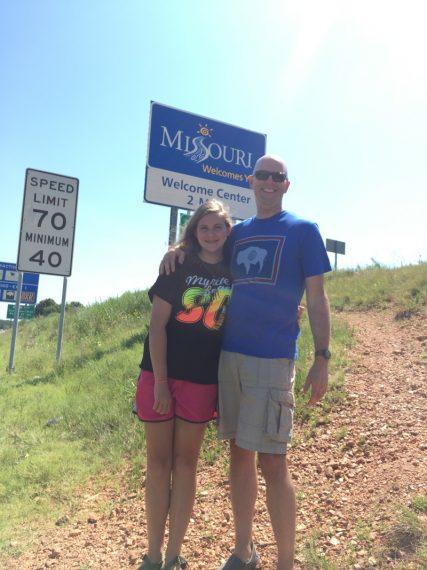 Marissa and Steve visit Missouri