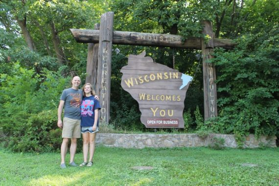 Steve and Marissa visit Wisconsin