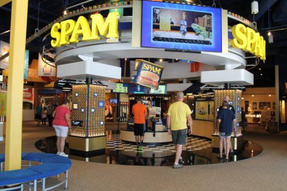 Spam Museum Interior
