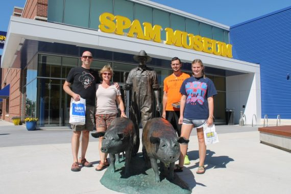 Who needs more than 30 minutes in the SPAM museum?