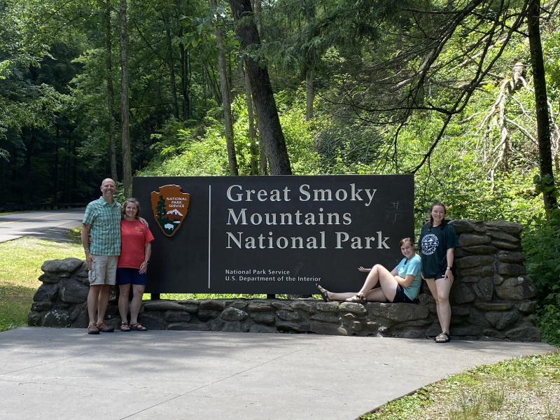 2020.06.22 Visiting Great Smoky Mountain National Park, and Setting Up Camp