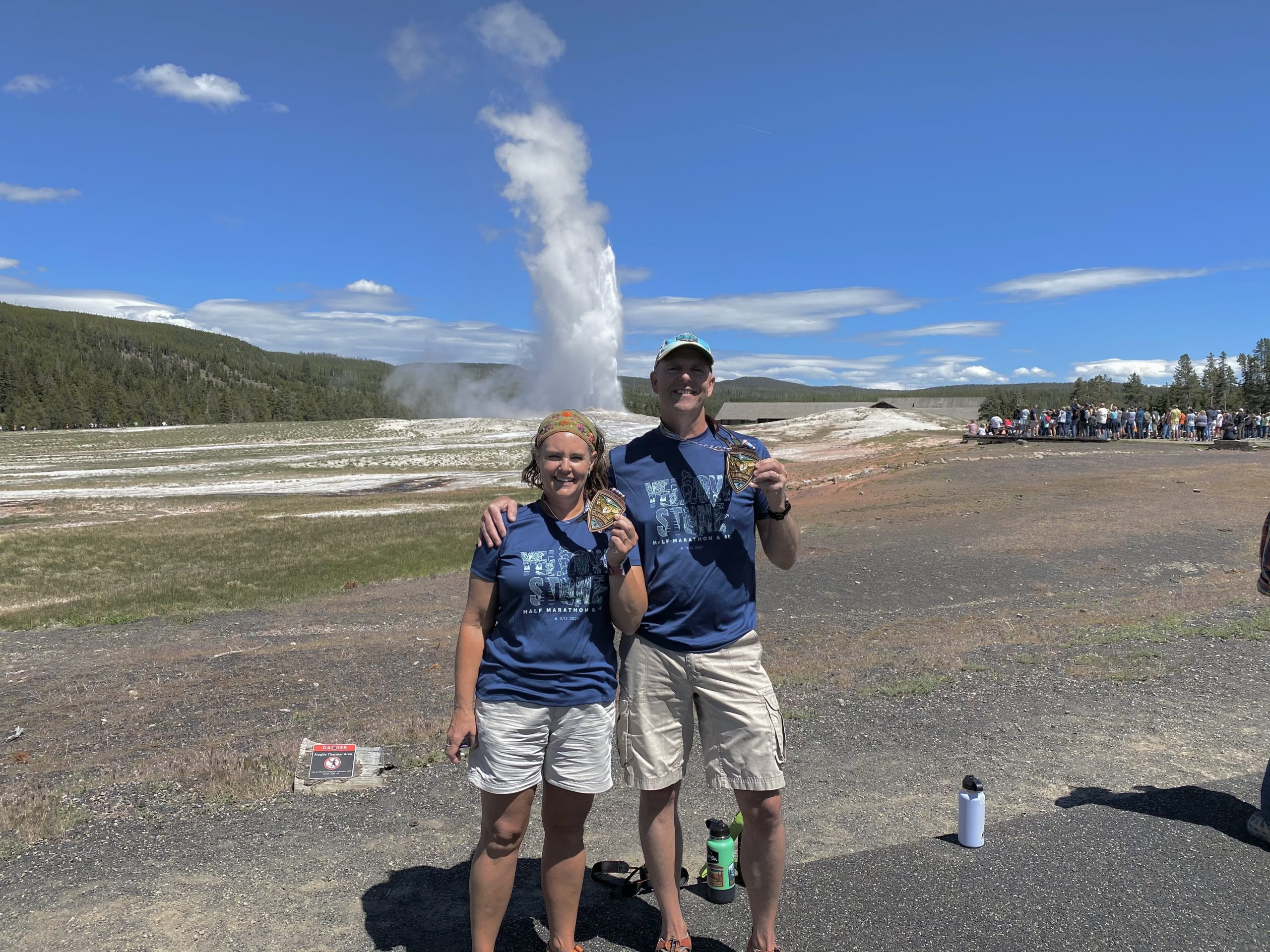 2021.06.12 A Race, Old Faithful, and Chico Hot Springs